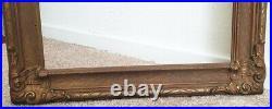 Antique Ornate Gesso 12 x 16 Vintage Old Picture Frame