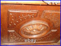 Beautiful Ornate French Oak Buffet Antique Vintage Sideboard