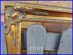 Gorgeous Gold Gilt & Ornate Detail Antique Style Artists Frame Rebate 48 x 36
