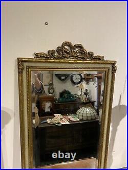 Lovely Ornate Vintage Gilt Mirror
