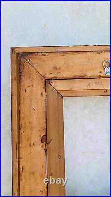 Vintage Antique 17x15 Wood Style Ornate Carved Gold Gilt Ormolu Picture Frame
