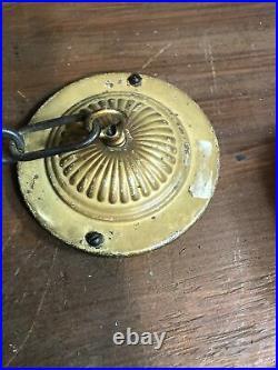 Vintage Antique Art Deco Art Nouveau Ornate 5 Bulb Electric Chandelier