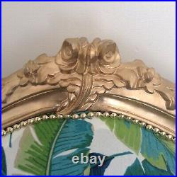 Vintage Antique Magnificent Baroque Ornate Sofa