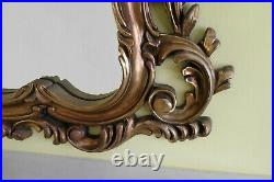 Vintage Antique Style Large Gold Mantel Ornate Mirror Collection Only Cheshire