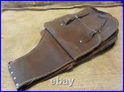 Vintage Ornate Designed Leather Saddle Bags Satchel Antique Saddles 10127