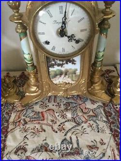 Vintage Ornate Imperial Mantle Clock