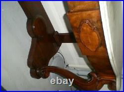 Vintage Ornate Marble Top Wash Stand'Statement' Piece